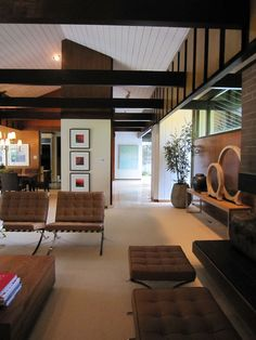 33 Modern Living Room Design Ideas Mid century modern design