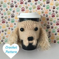Cocker Spaniel Amigurumi Crochet Pattern
