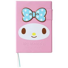 My Melody B6 Size Diary Day Planner Notebook 2015 Magnet Closure SANRIO JAPAN
