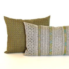 Olive Green Pillow Covers Dark Green Cream Throw Pillows