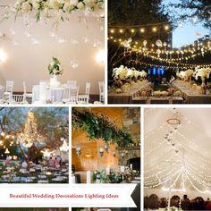 Beautiful Wedding Decorations Lighting Ideas
