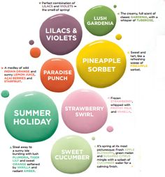 Scentsy Spring & Summer Scents 2017!
