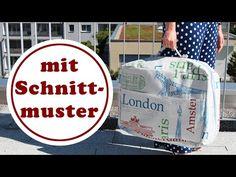 Koffer nähen | mit ChezNU-Schnittmuster | Koffer Kapstadt - YouTube