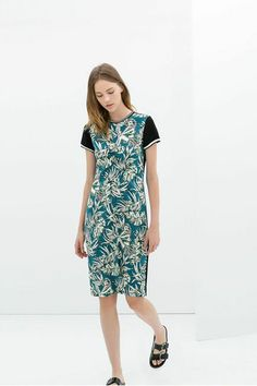 The ONLY Sale Worth Shopping This Week #refinery29  http://www.refinery29.com/2014/06/69968/zara-summer-sale#slide26  Zara Printed Dress, $79.99 (originally $119.00), available at Zara.