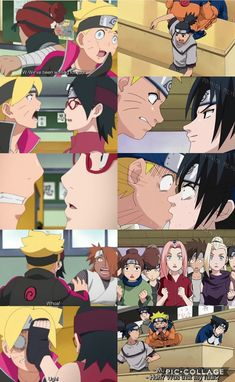 Boruto and Sarada's Kiss  VS Naruto and Sasuke's ❤️ like parents, like kids ❤️ History repeats itself ❤️ Episode 38 ❤️