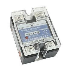 26.26$  Buy now - http://alisqp.worldwells.pw/go.php?t=32316603003 - DC3-32V AC24-480V 90A 4 Screw Terminal One Phase Solid State Relay w Clear Cover