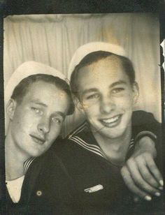 World War II Sailors. I love this. I get really annoyed at Hollywood's use of older me in wwII movies. They were just kids!