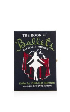 The Book Of Ballets Clutch by Olympia Le-Tan for Preorder on Moda Operandi