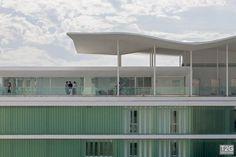 Museu Mar - Fachada com vidros autoportantes C.Glass da T2G.  #Cglass #T2G #Engenharia #Profilit #Vidro #Glass #Arquitetura #Engenharia #Technical #Tecnologia #Design