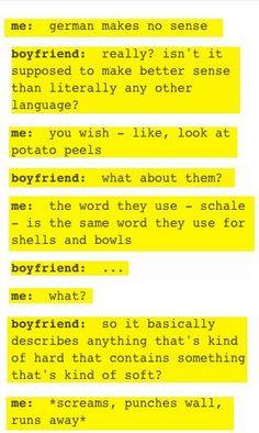 Word In English  Words In German
