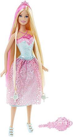barbie endless hair kingdom princess doll pink barbie httpwwwamazon - Barbie Fe