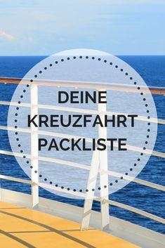 Deine Kreuzfahrt-Packliste!