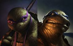 Teenage Mutant Ninja Turtles - Character Set Art 000.jpg (737×460)