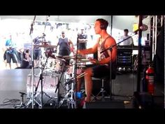 Dylan Elise - Best drummer of the world at Pasifika festival in Auckland - Part 1 - 2012