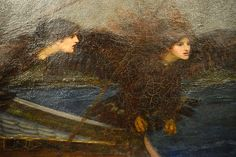 John William Waterhouse, Ulysses and the Sirens, National Gallery of Victoria, Melbourne.