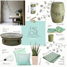 Whispers of Spring by nyrvelli on Polyvore featuring interior, interiors, interior design, home, home decor, interior decorating, Eichholtz, FilamentStyle, Pier 1 Imports and Unison