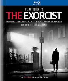 William Peter Blatty's The Exorcist: Extended Director's Cut & Original Theatrical Version Blu-Ray Disc