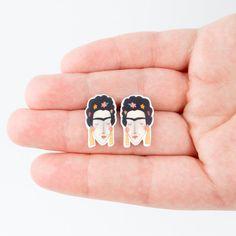 Frida Kahlo Post Earrings
