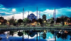 HD Blue Mosque at Istanbul. Blue Mosque Turkey, Travel Photographie, Book Cheap Flights, San Salvador, Kew Gardens, Islamic Architecture, Most Beautiful Cities, Walking Tour, World Heritage Sites