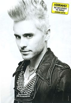 Jared Thirty Seconds, 30 Seconds, Jared Leto, Rock Music, Mars, Beautiful Men, First Love, Cute Guys, March