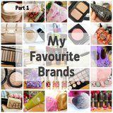 Kimberley's Beauty Blog // My Favourite Brands Part 1
