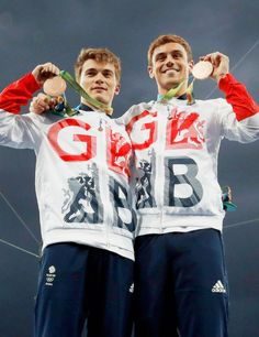 Daniel Goodfellow & Tom Daley - Bronze Medals at Rio 2016 Olympics
