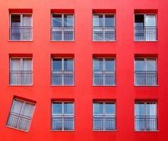 #architecture #windows #red