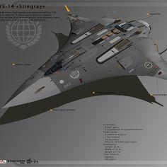 Endo by Denis Melnychenko on ArtStation. Spaceship Design, Spaceship Concept, Concept Ships, Armor Concept, Concept Art, Space Fighter, Fighter Jets, Drones, Sci Fi Spaceships