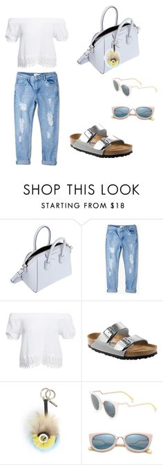 """A Little Bit of Givenchy"" by iris0504 on Polyvore featuring Givenchy, MANGO, Boohoo, Birkenstock and Fendi"