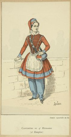 Vivandiere - actually a cantiniere, but I might like this uniform the best.