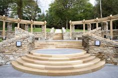Manufacturing and supplying high quality natural stone building and landscaping products in Quartzite, Sandstone, Granite, Limestone, Slate and Schist. Natural Stones, Granite, Stepping Stones, Restoration, Patio, Landscape, Architecture, Backyard Ideas, Building