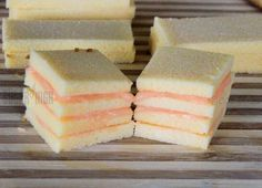 Quick and Easy No Bake Pound Cake Petit Fours — Oh My! Sugar High