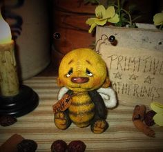 Bumble Bee Bear By Patti Sikes of Patti's Ratties - Bear Pile