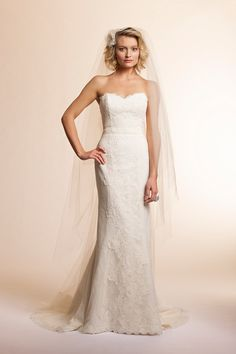 Lace and Novelty ,Strapless, Sweetheart,Sheath, Trumpet - Rosemary | Amy Kuschel