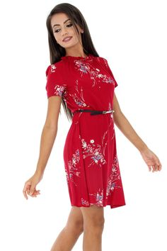 Aw17, Mall, Cold Shoulder Dress, Dresses For Work, Floral, Casual, Fashion, Moda, Fashion Styles