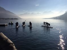 Gla Gla Race  200 SUP racers competing in breathtaking scenery on Lake Annecy for the 'Gla Gla Race'  #exploreyourworld