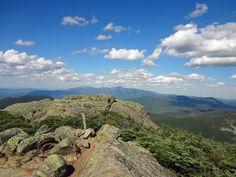 South Twin Summit on NH Appalachian Trail