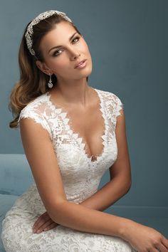Wedding gown by Allure Bridals