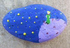 Peint à la main de Pierre - le Petit Prince / Le petit prince