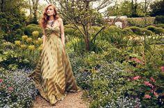 "AW 16/17 ""The Brits"" Catalogue   ""Mountbatten Couture Dress"" -made to order-  http://shop.lenahoschek.com/"