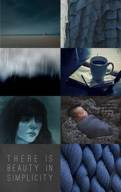 """""""Nothing Wrong with Stormy"""" collage by Nicholas Meyeres on Etsy--Pinned with TreasuryPin.com (I love these deep, deep colors... my husband, muse and inspiration is Nicholas Meyeres, his fave color is blue)"""