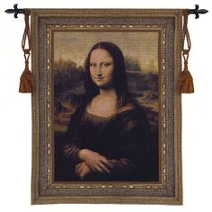see details here:Mona Lisa Tapestry Wall Hanging