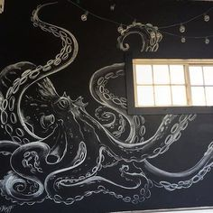 octopus mural - Google Search