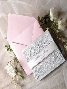 Wedding LACE invitation See more here: http://4lovepolkadots.com/p/7/388/7246/WEDDING%20INVITATIONS_lace_04/lace/z.html