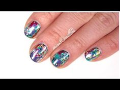 New Years Eve Nails 2015 - YouTube