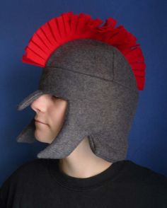 Beau absolutely needs one of these for hunting :)  knight fleece hat/helmet