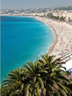 Nice, France..went in jr high and chowed on nothing but Salad nicoise!! good times. need a revisit so I can actually enjoy topless sunbathing. It was impossible to explore that with my dad and brother on the trip!!