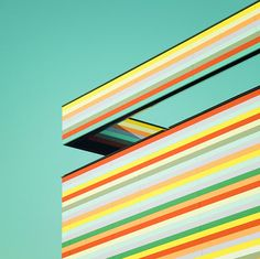 Architecture and color inspired artwork by german photographer Matthias Heiderich. #mint green