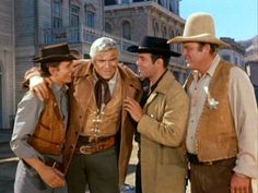 """Bonanza"" I believe this is a still from the end of the episode ""The Gunmen"". Correct me if I'm wrong."