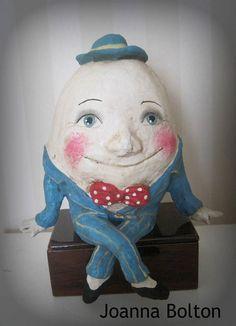 Handmade Artisan Papier-mache Cloth Doll-Toy Girl OOAK Art Doll Modern Artist